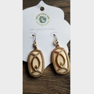 Spartina 449 18K Gold Plated Earrings